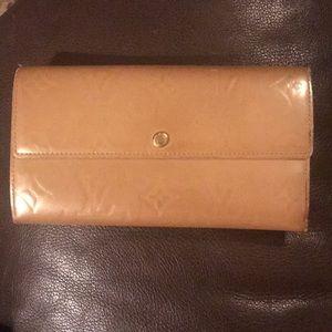 Louis Vuitton Vernis Large Clutch Organizer Wallet